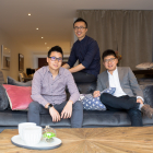---- Brosa Founders ----       David Wei, Ivan Lim and Richard Li